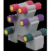 Набор неопреновых гантелей на подставке Oxygen P800-10LB 4.54 кг
