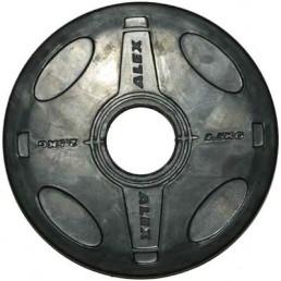 2.5 кг черный олимпийский обрезиненный диск ALEX Aerofit P-RO-2.5K