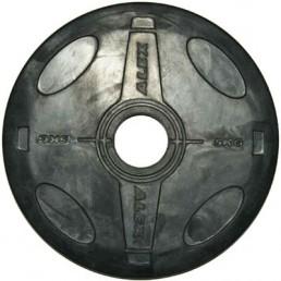 5 кг черный олимпийский обрезиненный диск ALEX Aerofit P-RO-5K