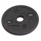 5 кг черный полиуретановый диск ALEX без отверстий P-TPU-5K