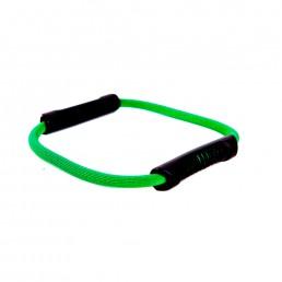 Зеленый эспандер кольцо, слабое сопротивление Aerofit FT-E-D001M