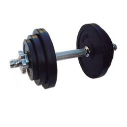 Гантель наборная обрезиненная 10 кг Aerofit DB3031-10