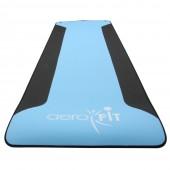 Синий, черный коврик для йоги 183x60x0.5 см FT-YGM-POE-5-AF