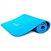 Синий гимнастический коврик 180x59x1 см FT-WB-180