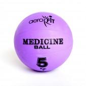 Фиолетовый медицинский мяч 5 кг FT-MB-5K-V