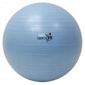 Голубой гимнастический мяч 65 см FT-ABGB-65