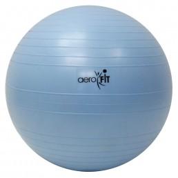 Голубой гимнастический мяч 65 см Aerofit FT-ABGB-65