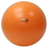 Оранжевый гимнастический мяч 75см FT-ABGB-75