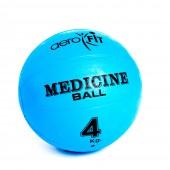 Синий медицинский мяч 4 кг FT-MB-4K-V