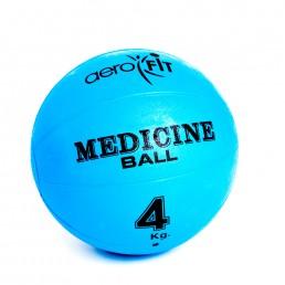 Синий медицинский мяч 4 кг Aerofit FT-MB-4K-V