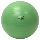Зеленый гимнастический мяч 55 см FT-ABGB-55