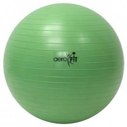 Зеленый гимнастический мяч 55 см Aerofit FT-ABGB-55