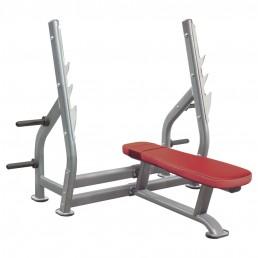 Олимпийская горизонтальная скамья со стойками Aerofit IT7014