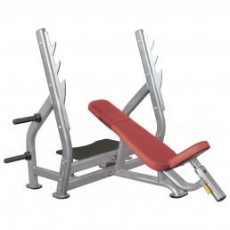 Олимпийская наклонная скамья со стойками Aerofit IT7015