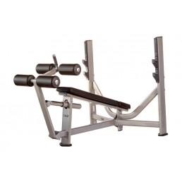 Олимпийская скамья с отрицательным углом наклона Inotec E36