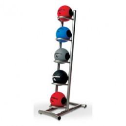Платиновая стойка для 5 медицинских мячей Aerofit LF25RACK