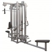 4-х стековая мультистанция - верхняя тяга, гребная тяга, верхний блок на трицепс, регулируемая тяговая колонна IF8127