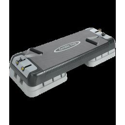Регулируемая стэп-платформа с эспандером Oxygen 690