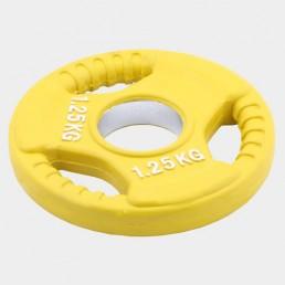 Олимпийский диск Oxygen евро-классик с тройным хватом 1.25 кг