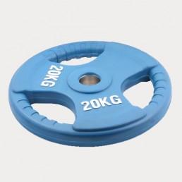 Олимпийский диск Oxygen евро-классик с тройным хватом 20 кг