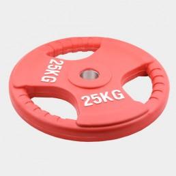 Олимпийский диск Oxygen евро-классик с тройным хватом 2.5 кг