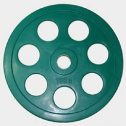 Олимпийский диск Oxygen евро-классик с хватом Ромашка 10 кг