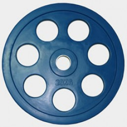 Олимпийский диск Oxygen евро-классик с хватом Ромашка 20 кг
