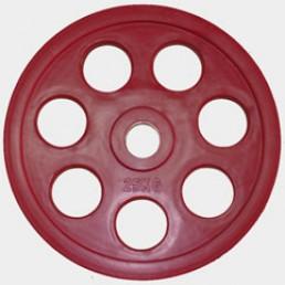 Олимпийский диск Oxygen евро-классик с хватом Ромашка 25 кг