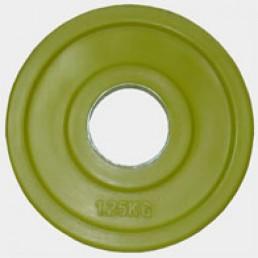 Олимпийский диск Oxygen евро-классик с хватом Ромашка 1.25 кг