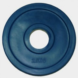 Олимпийский диск Oxygen евро-классик с хватом Ромашка 2.5 кг
