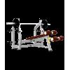Скамья для жима Bronze Gym J-024 с отрицательным наклоном