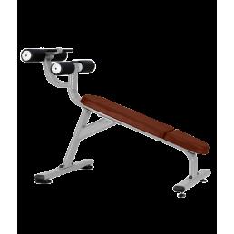 Скамья для пресса Bronze Gym J-028 с отрицательным наклоном