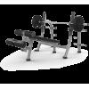 Скамья для жима Matrix MAGNUM A80 с отрицательным наклоном