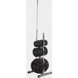 Подставка для олимпийских дисков и грифов Body Solid GOWT